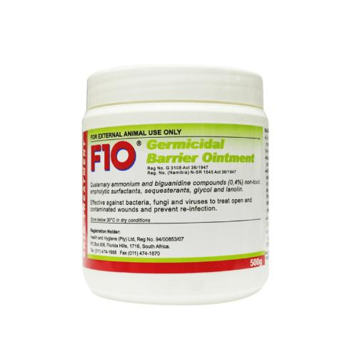 F10 Germicidal Barrier Pet Ointment