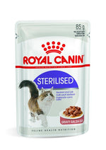 ROYAL CANIN Health Sterilised Feline Instinctive in Gravy Wet Food (12 x 85 Grams)