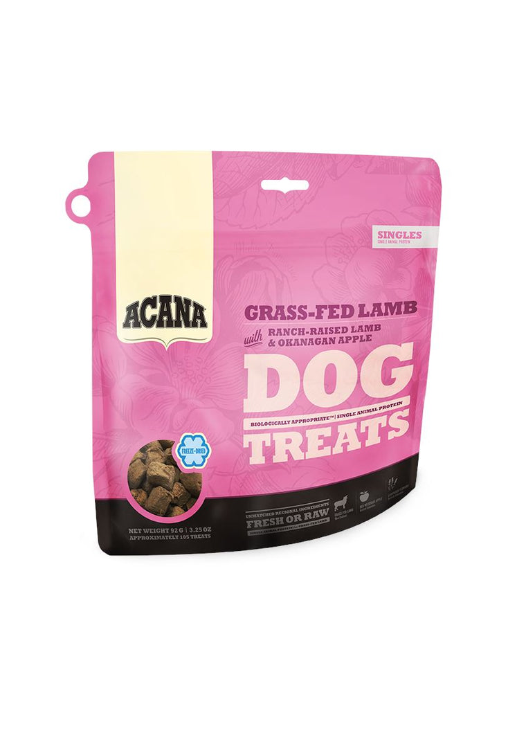 ACANA Singles Freeze Dry Grass Fed Lamb and Apple Dog Treats
