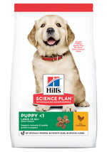 Hill's Science Plan Canine Large Breed Puppy Chicken Dog Food Dropawf