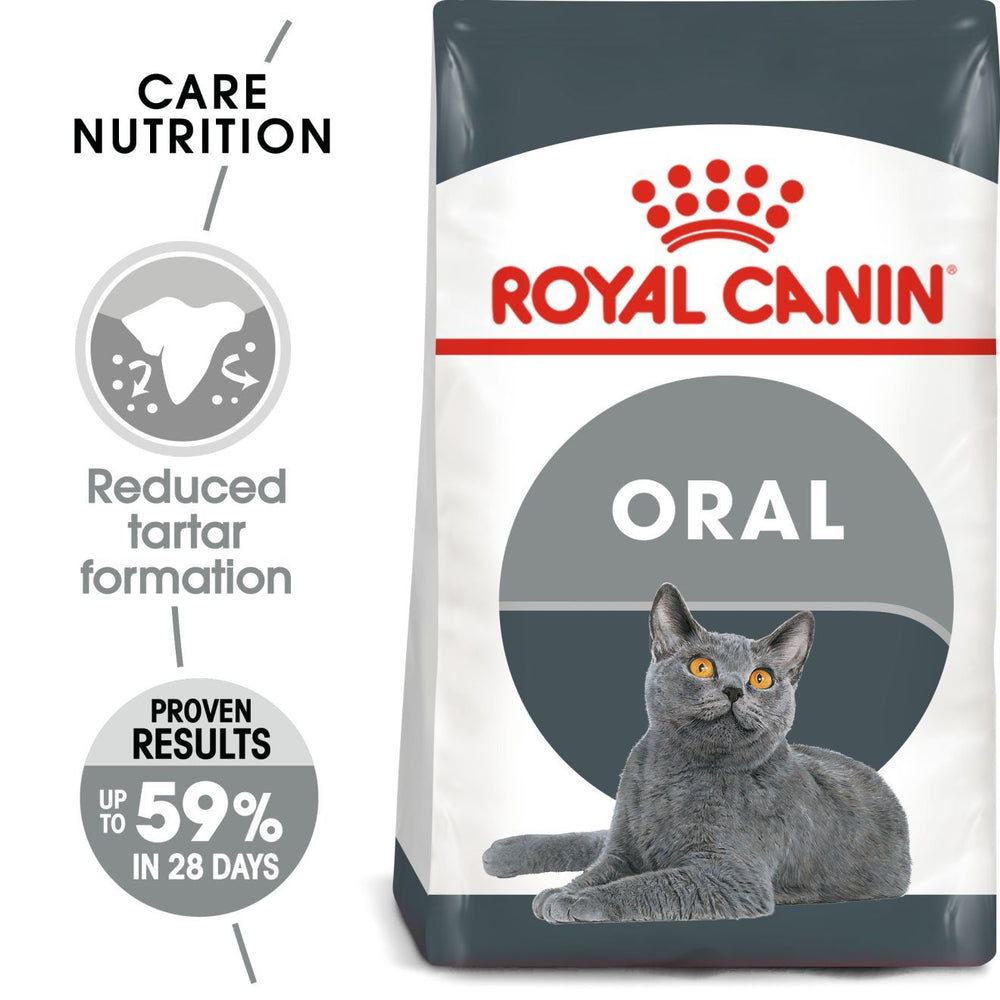 ROYAL CANIN Feline Oral Care Adult Cat Food Dropawf