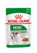 ROYAL CANIN Mini Ageing 12+ Gravy Wet Dog Food | 10 x 140 Grams Dropawf