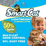 SmartCat LightWeight Clay Coated Cat Litter 4.54KG Dropawf