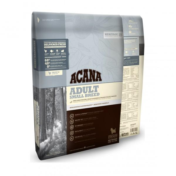 Acana Heritage Small Breed Adult Dog Food Dropawf