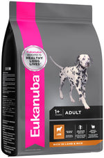 Eukanuba Adult Small and Medium Breed Lamb & Rice Dog Food Dropawf