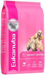 Eukanuba Adult Small & Medium Breed Weight Control Dog Food Dropawf