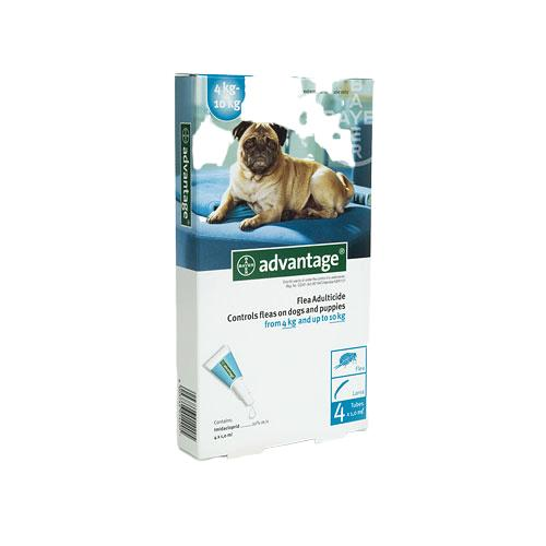 Advantage Dog 4-10kg Fleas & Lice Treatment