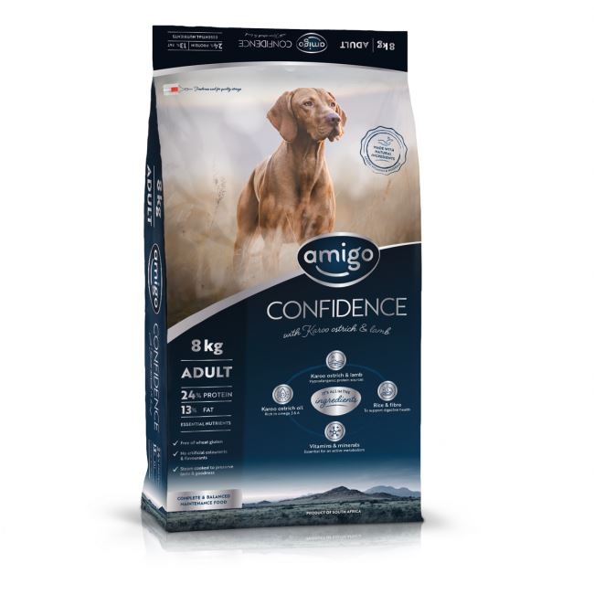 Amigo Confidence Large Adult Dog Food Dropawf