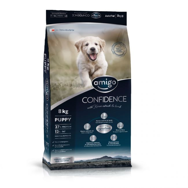 Amigo Confidence Puppy Dog Food