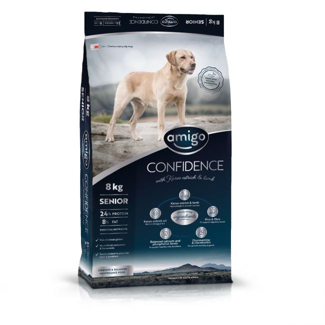 Amigo Confidence Senior Small Breed Dog Food