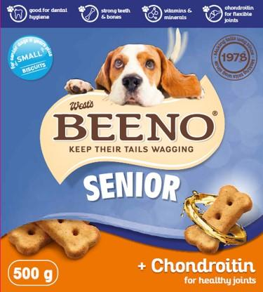 Beeno Biscuits – Senior Healthy Joints - 500 Grams Dropawf