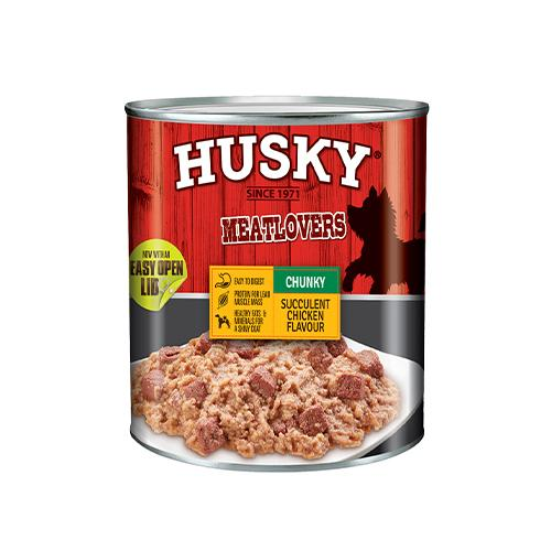 Husky Multiserve Puppy Tins | 6 x 400 Grams