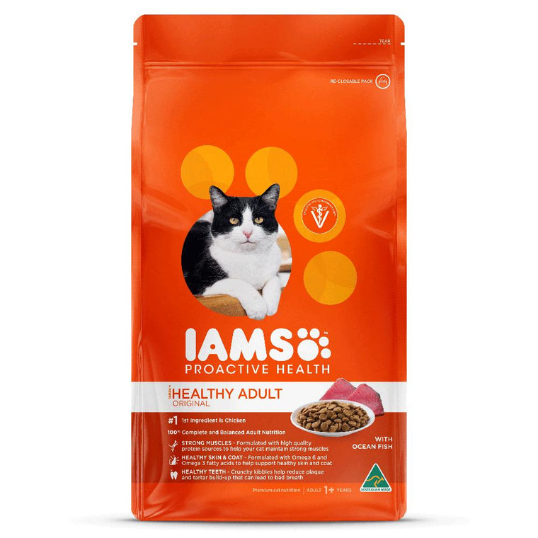 Iams Healthy Adult Original with Ocean Fish Cat Food