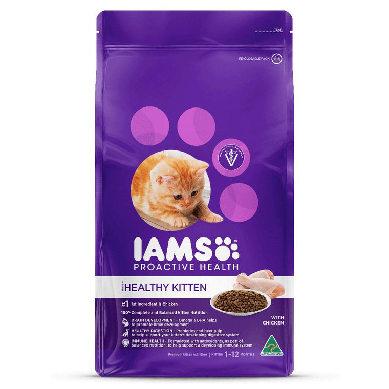 Iams Healthy Kitten With Chicken Cat Food