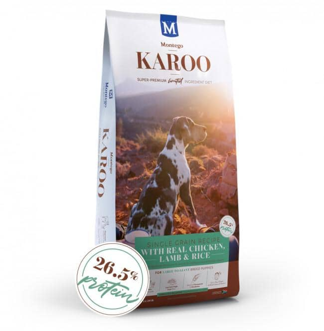 Montego Karoo Large Breed Puppy Food Dropawf