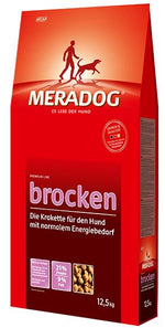 Meradog Premium Brocken Adult Dog Food - JHB only Dropawf