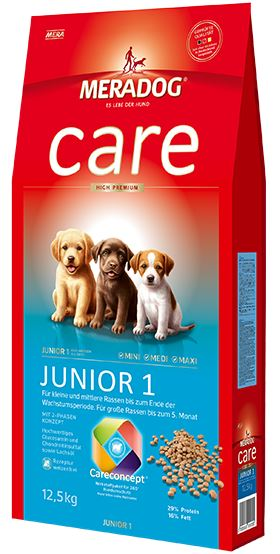 Meradog Premium Care Junior 1 Puppy Food