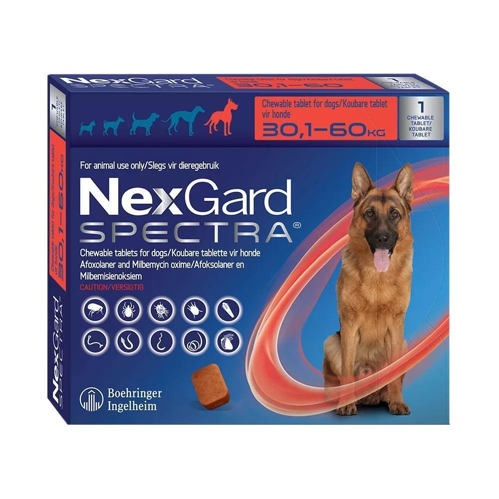 Nexgard Spectra Chewable Tablet - 30,1 - 60 kg Dropawf