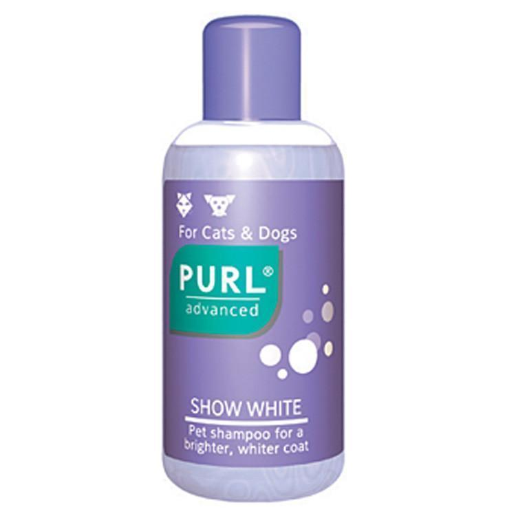 Purl Show White Dog and Cat Shampoo 250ml Dropawf