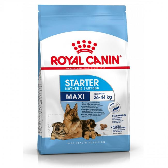 ROYAL CANIN Maxi Starter Mother & Babydog Food Dropawf