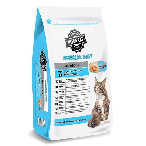 Ultra Cat Special Diet Metabolic Adult Cat Food Dropawf