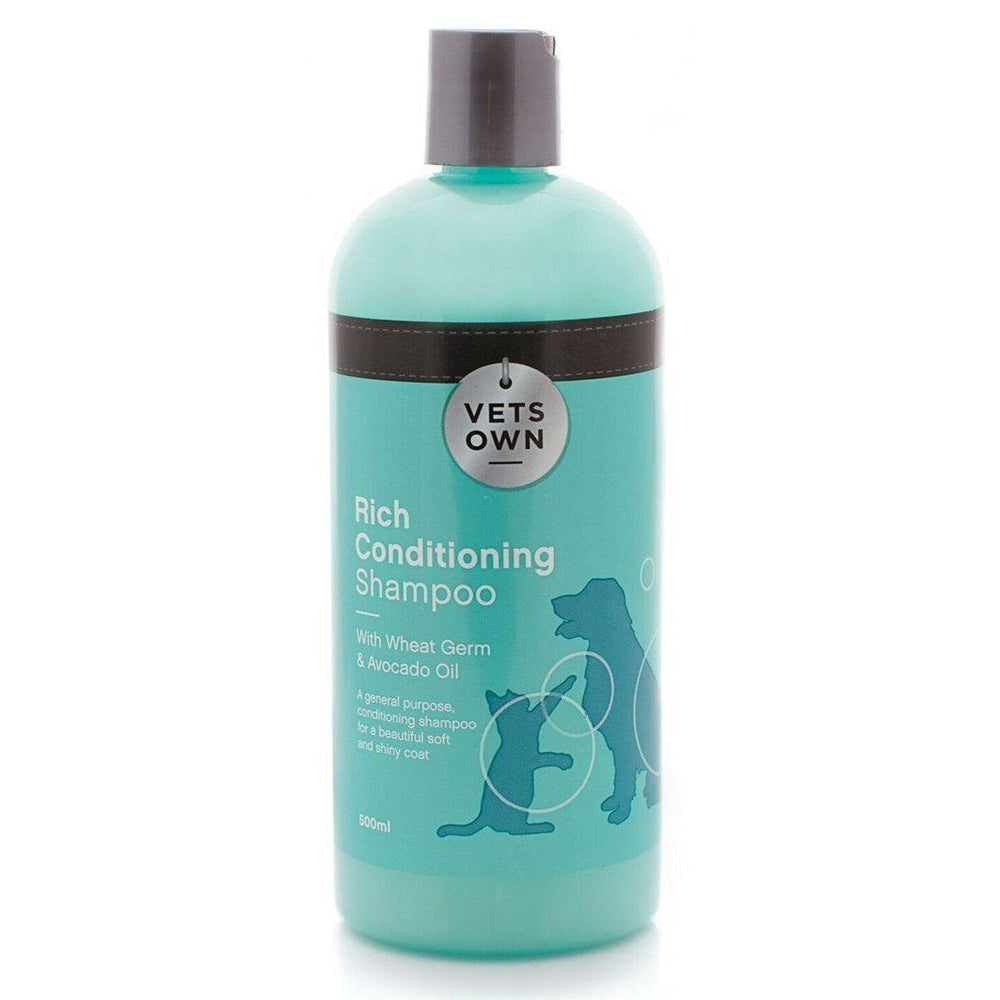 Vets Own Rich Conditioning Dog and Cat Shampoo - 500ML
