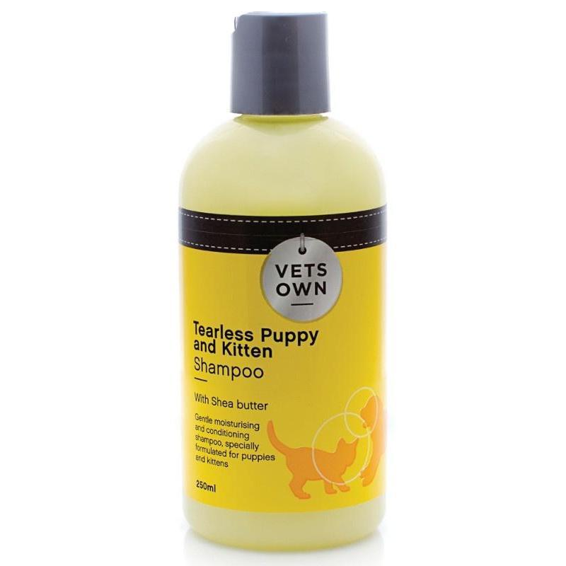 Vets Own Tearless Puppy & Kitten Shampoo - 250ML