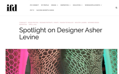http://insidefashiondesign.net/spotlight-on-designer-asher-levine/