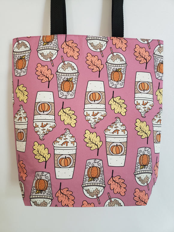Pumpkin Spice Latte Tote Bag