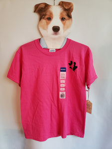 Rescue Dog Pawprint Tee