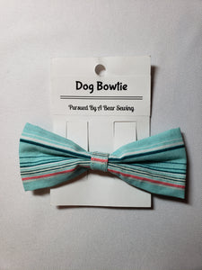 Summer Stripe (Horizontal) Over-the-Collar Pet Bowtie