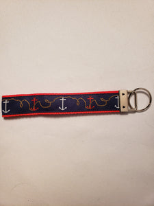 Anchor & Rope Key Fob