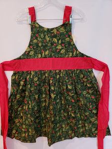 Christmas Holly & Berries Apron