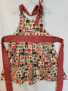 Christmas State Stamps Apron