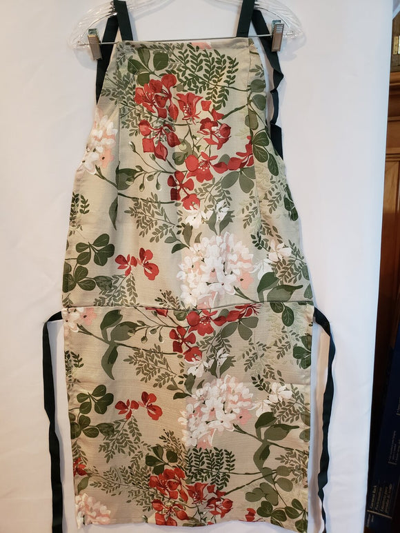 Floral Re-purposed Apron