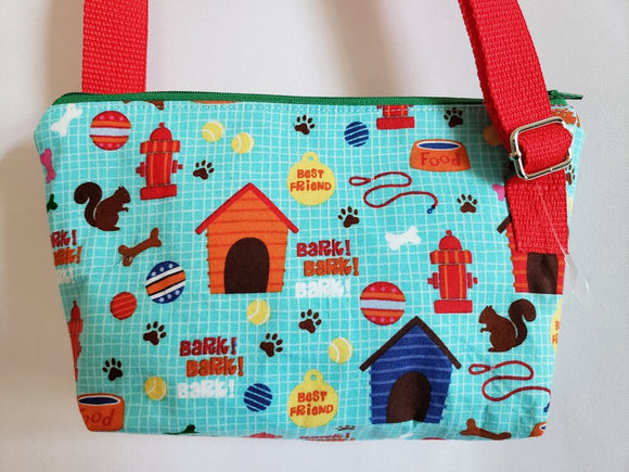 Cutesy Dog Things Crossbody Bag
