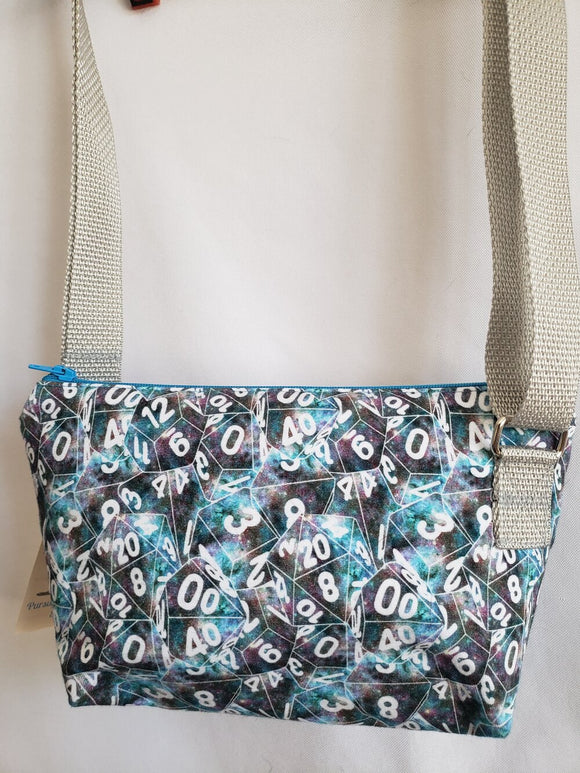 Galaxy Dice Crossbody Bag