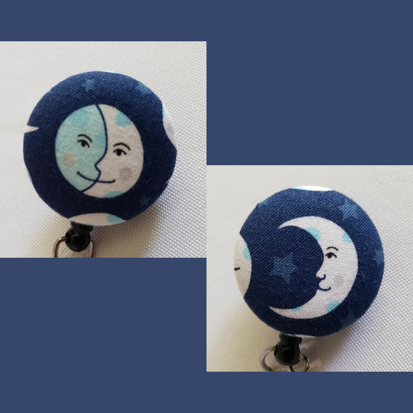 Moon Badge Reel