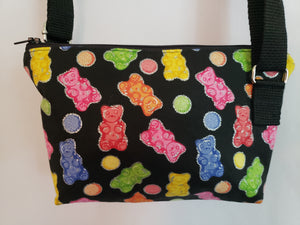 Rainbow Gummy Bears Crossbody Bag