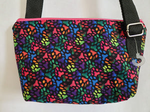 Rainbow Paws Crossbody Bag