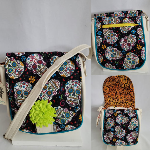 Sandra Saddlebag - Sugar Skulls