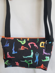Yoga Poses Crossbody Bag