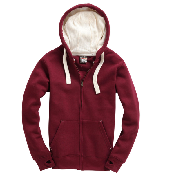 Kids Ultra Premium Zippie Maroon