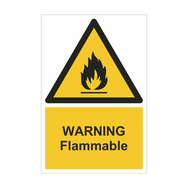 Warning Flammable