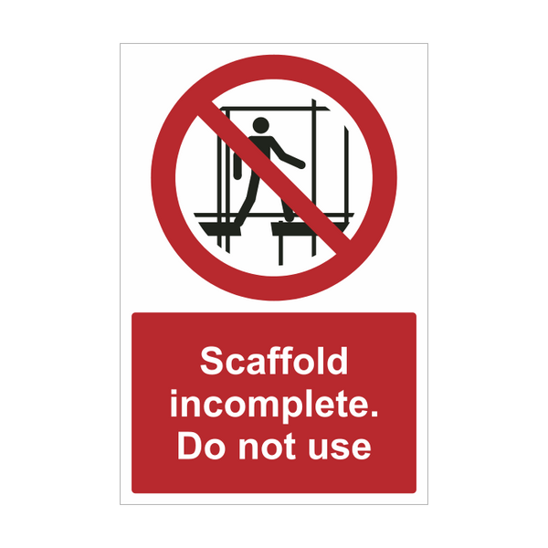 Incomplete Scaffold