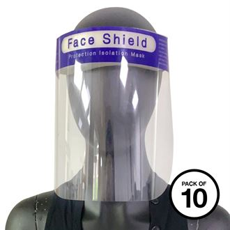 Face splash shield - Pack of 10