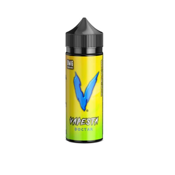 Vapesta 0mg 100ml Shortfill (70VG/30PG)