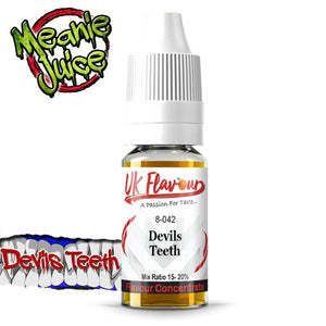 UK Flavour Nasty Range Concentrate 0mg 30ml (Mix Ratio 15-20%)