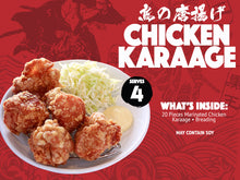 Load image into Gallery viewer, CHICKEN KARAAGE box (good for 4)
