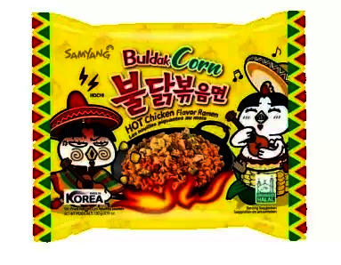 Samyang Hot Chicken Corn